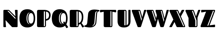 Fascinate Inline Font UPPERCASE