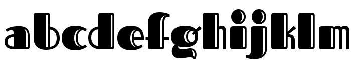 Fascinate Inline Font LOWERCASE