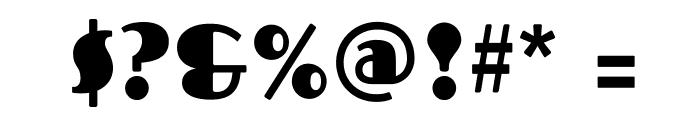 Fascinate-Regular Font OTHER CHARS