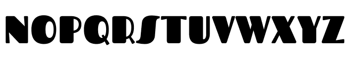Fascinate-Regular Font UPPERCASE