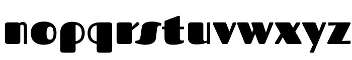 Fascinate-Regular Font LOWERCASE