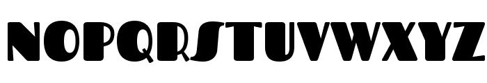 Fascinate Font UPPERCASE