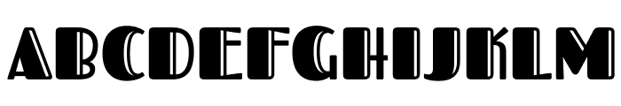 FascinateInline-Regular Font UPPERCASE
