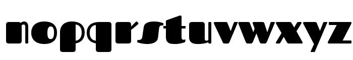 Fascinate Font LOWERCASE