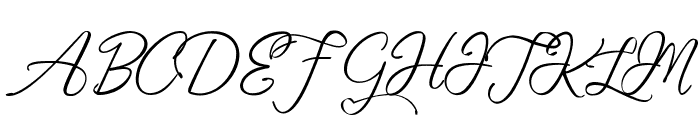 Fascinating Celestina Font UPPERCASE