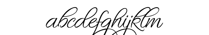 Fascinating Celestina Font LOWERCASE