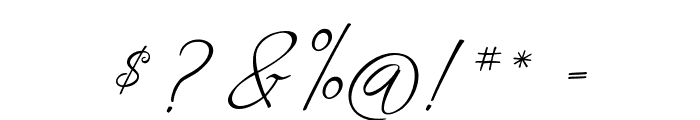 Fascinating Christmas Font OTHER CHARS