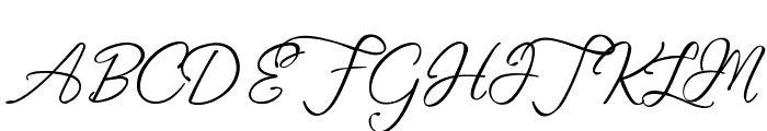 Fascinating Christmas Font UPPERCASE