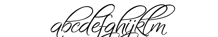 Fascinating Christmas Font LOWERCASE