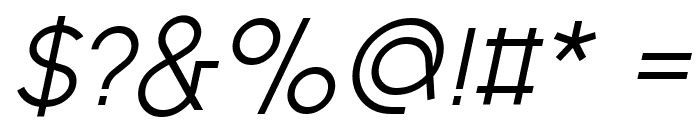 Fashion Fetish Italic Font OTHER CHARS