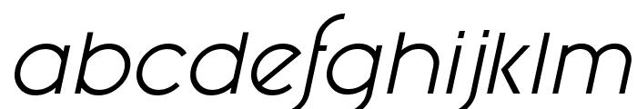 Fashion Fetish Italic Font LOWERCASE