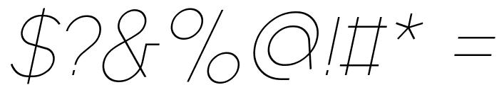 Fashion Fetish Light Italic Font OTHER CHARS