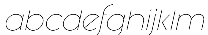 Fashion Fetish Light Italic Font LOWERCASE