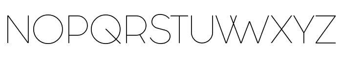 Fashion Fetish Light Font UPPERCASE