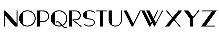 FashionVictim Font UPPERCASE