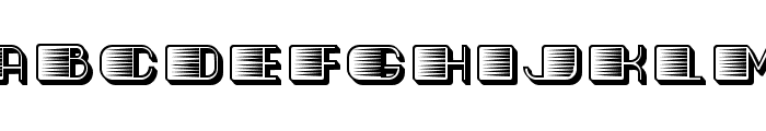 Fast Regular Font UPPERCASE