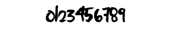 FastBrush Font OTHER CHARS