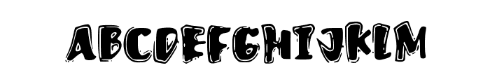 FastOstrich Font UPPERCASE