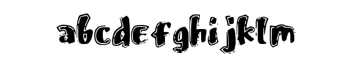 FastOstrich Font LOWERCASE