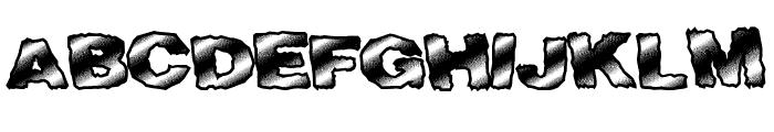 FastTime Font UPPERCASE