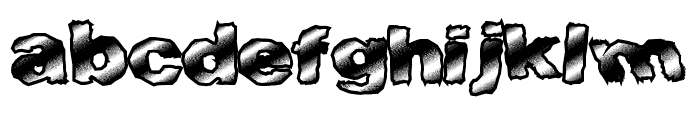 FastTime Font LOWERCASE