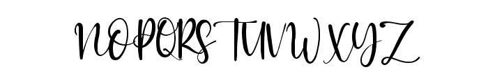 Faster Bottom Font UPPERCASE
