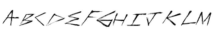 FasterStronger Font UPPERCASE