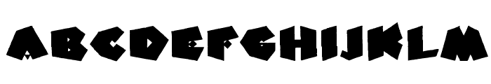 Fat Fantasy Font LOWERCASE