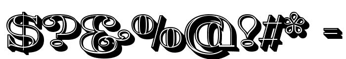 Fat Flamingo5 Lightbox Font OTHER CHARS