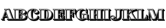 Fat Flamingo5 Lightbox Font UPPERCASE
