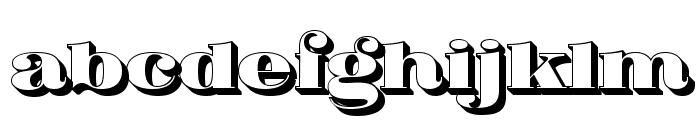 Fat Flamingo5 Side Font LOWERCASE