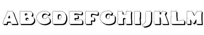Fat Freddie Shadow Font UPPERCASE