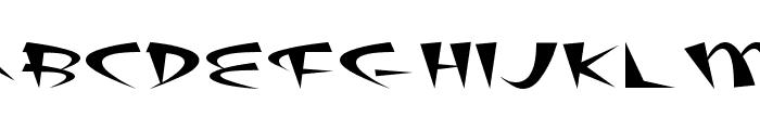 Fat Plain Font LOWERCASE
