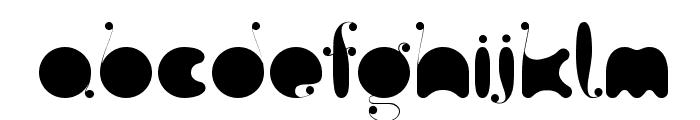 FatC Font UPPERCASE