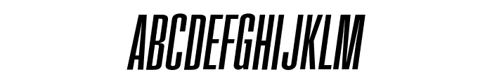 FatCow Italic Font UPPERCASE