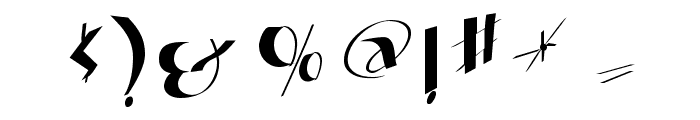 FatFineFree Font OTHER CHARS