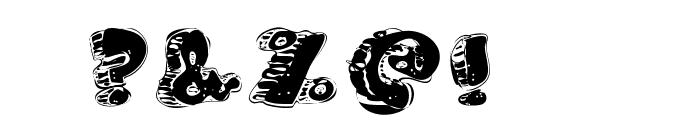 FatFloralphabetXperimental Font OTHER CHARS