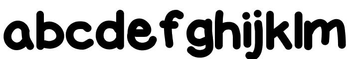 FatMarker Font LOWERCASE