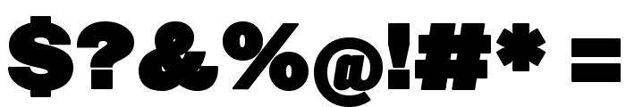 FatSansRound Font OTHER CHARS