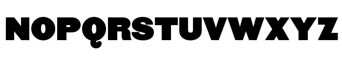 FatSansRound Font UPPERCASE