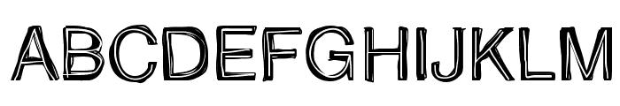 Father Nelson Regular Font UPPERCASE