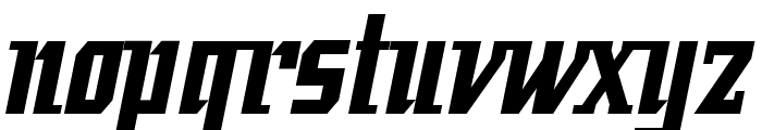 Fatman Bold Font LOWERCASE