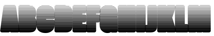 FatmanLight Font UPPERCASE