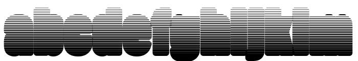 FatmanLight Font LOWERCASE