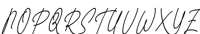 Fattana Italic Font UPPERCASE
