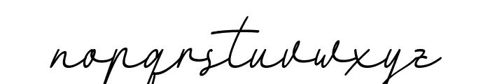 Fattana Italic Font LOWERCASE