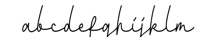 Fattana Font LOWERCASE