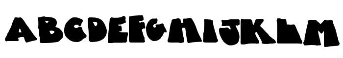 Fatty Bombatty Font UPPERCASE