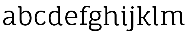 Fauna One Font LOWERCASE
