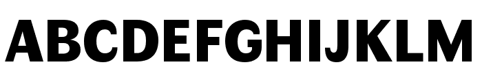 Faune Black Font UPPERCASE